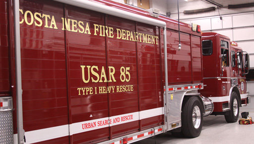 Fire Department Decals