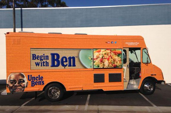 Food truck wraps in orange county