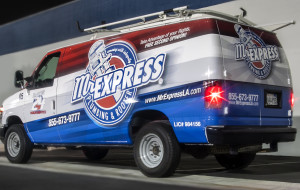 Mr Express Van Decal