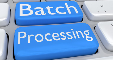 batch processing for manufacturers